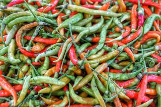 Green Chilli, Vitamin C