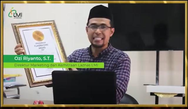 Kategori Fundraising Penggalangan Dana Langsung Terbaik: Lembaga Manajemen Infaq Indonesia.
