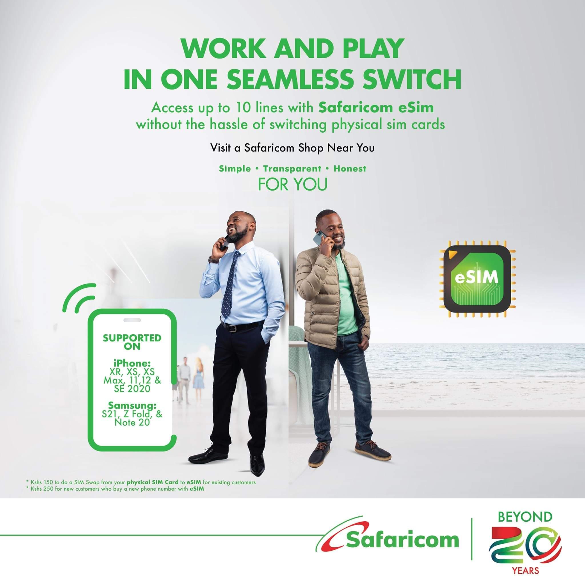 Safaricom eSIM