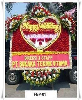 Bunga Rangkaian di Toko Bunga Cipayung Depok