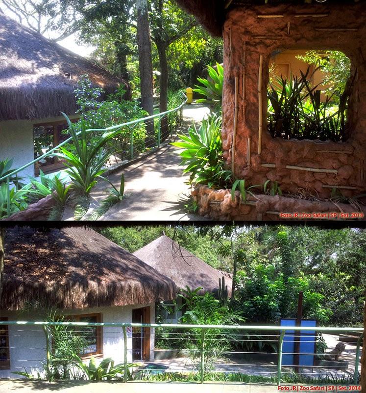 Instalações do Zoo Safari em SP
