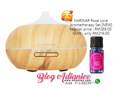 Narinar Rose Love Aromatherapy Set