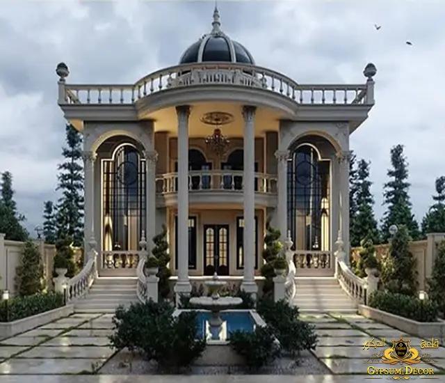 تصميم قصر ملكي عربي
