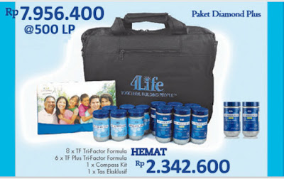 Paket Diamond Plus Transfer Factor