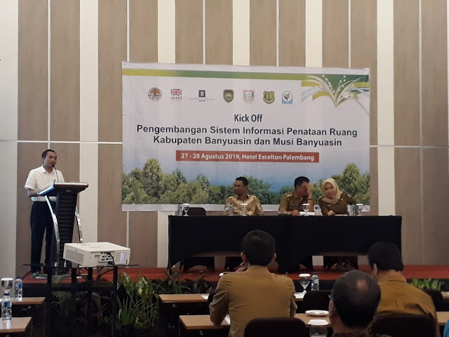 Kick Off SITARUNG Kabupaten,  Menuju Sinergitas pengembangan Tata Ruang di Sumsel