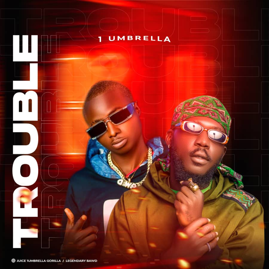 [Music] 1 Umbrella (Juice x Baw D) - Trouble (prod. Chuck bars) #Arewapublisize