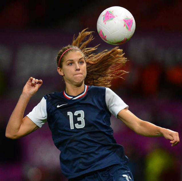 All About Sports: Alex Morgan Female Football Player ...