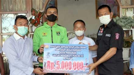 Dua Atlet Kota Pariaman Ikut Perkuat Tim Sumbar ke PON XX Papua