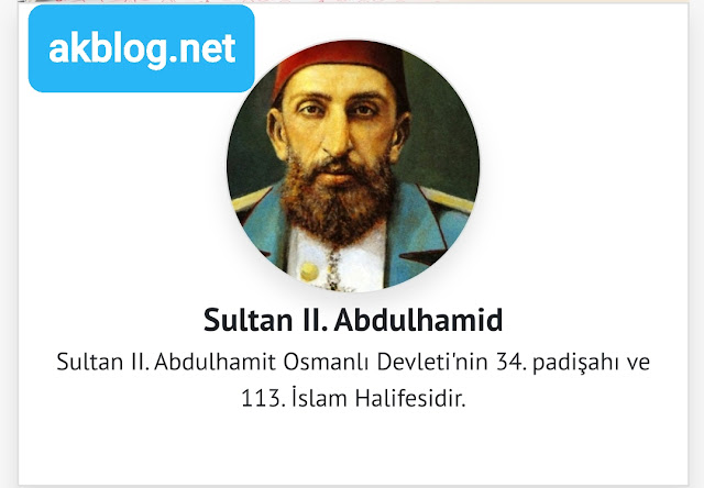 Sultan II. Abdulhamid Kimdir  Tarihçe-i Hayat