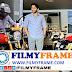 Actor Naga chaitanya New triumph thruxton Byke