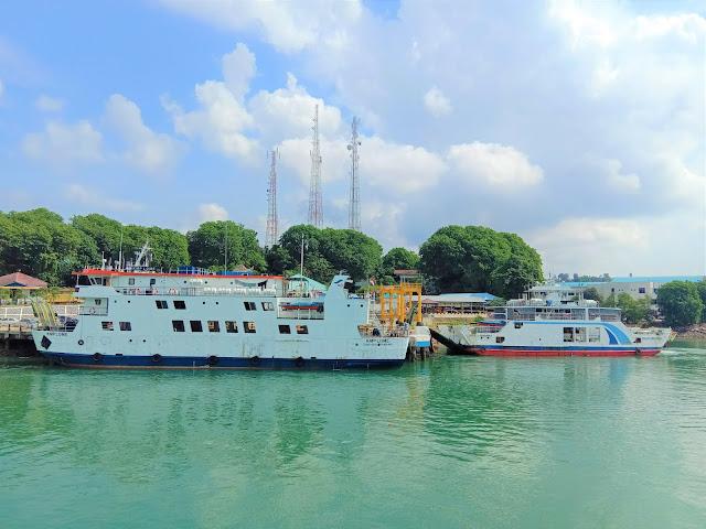 Pelabuhan ASDP telaga Punggur Batam