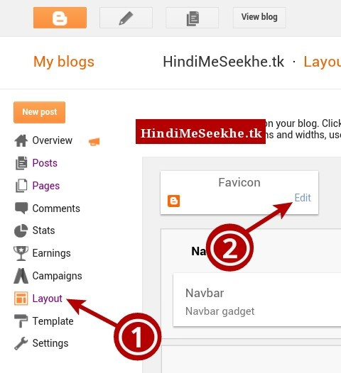 Blogger-layout-favicon-edit