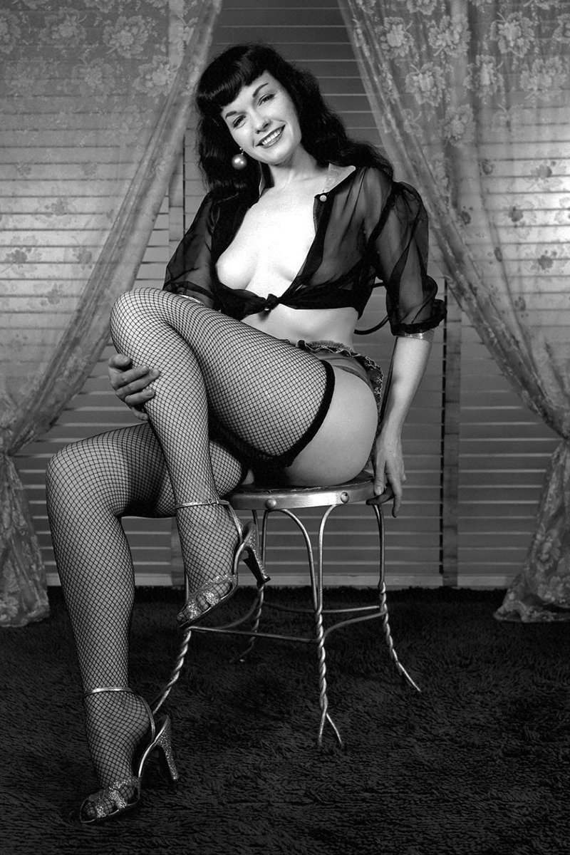 Bettie Page's Anal Training