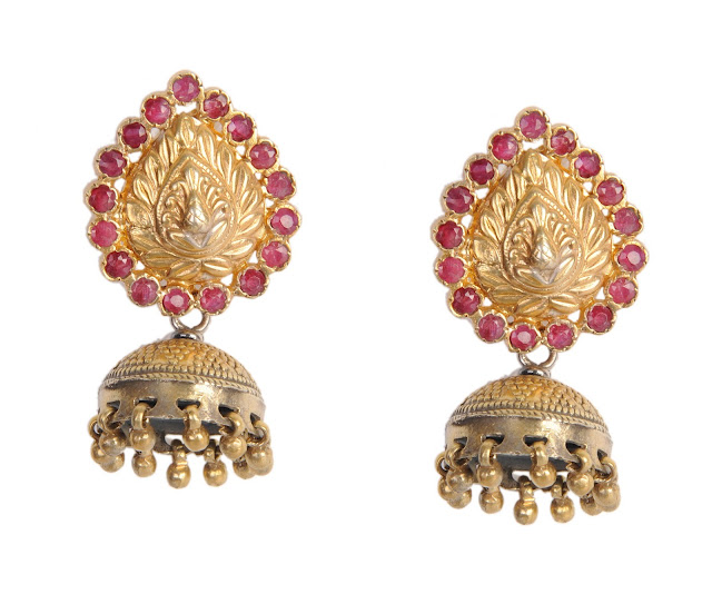 Gold Plated Silver Jhumkas MRP Rs. 4990