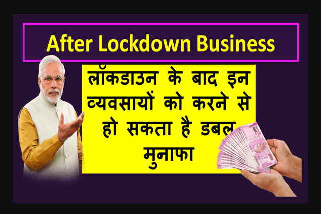 top 8 business ideas after lockdown
