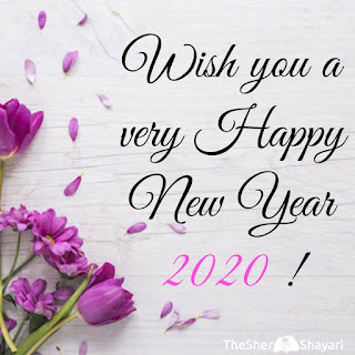 Happy new year wishes in hindi 2020