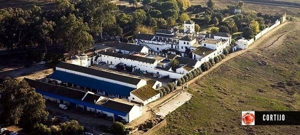 Cortijo arquitectura edificio típico para el desarrollo agrícola