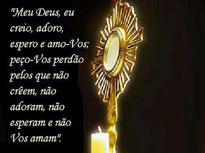 Oração ao Santíssimo