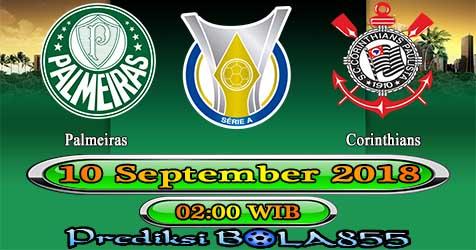 Prediksi Bola855 Palmeiras vs Corinthians 10 September 2018