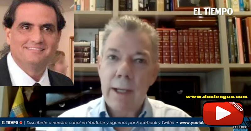 Juan Manuel Santos trata de aclarar relación con Alex Saab | Pero lo obscurece más