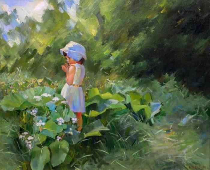 Украинский художник. Vasyl Khodakivskyi