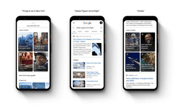 أكتشف الجديد في قصص الويب على تطبيق جوجل