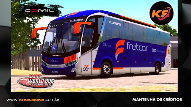 COMIL 1200 4X2 - VIAÇÃO FRETCAR PINTURA NOVA