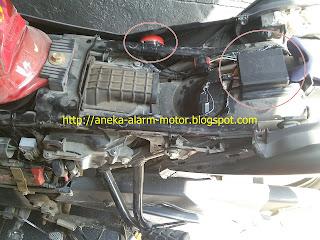 Cara pasang alarm motor pada Honda Mega Pro Fi