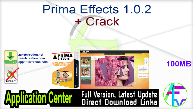Prima Effects 1.0.2 + Crack