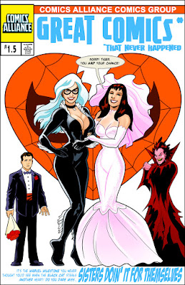 Black Cat Marries Mary Jane