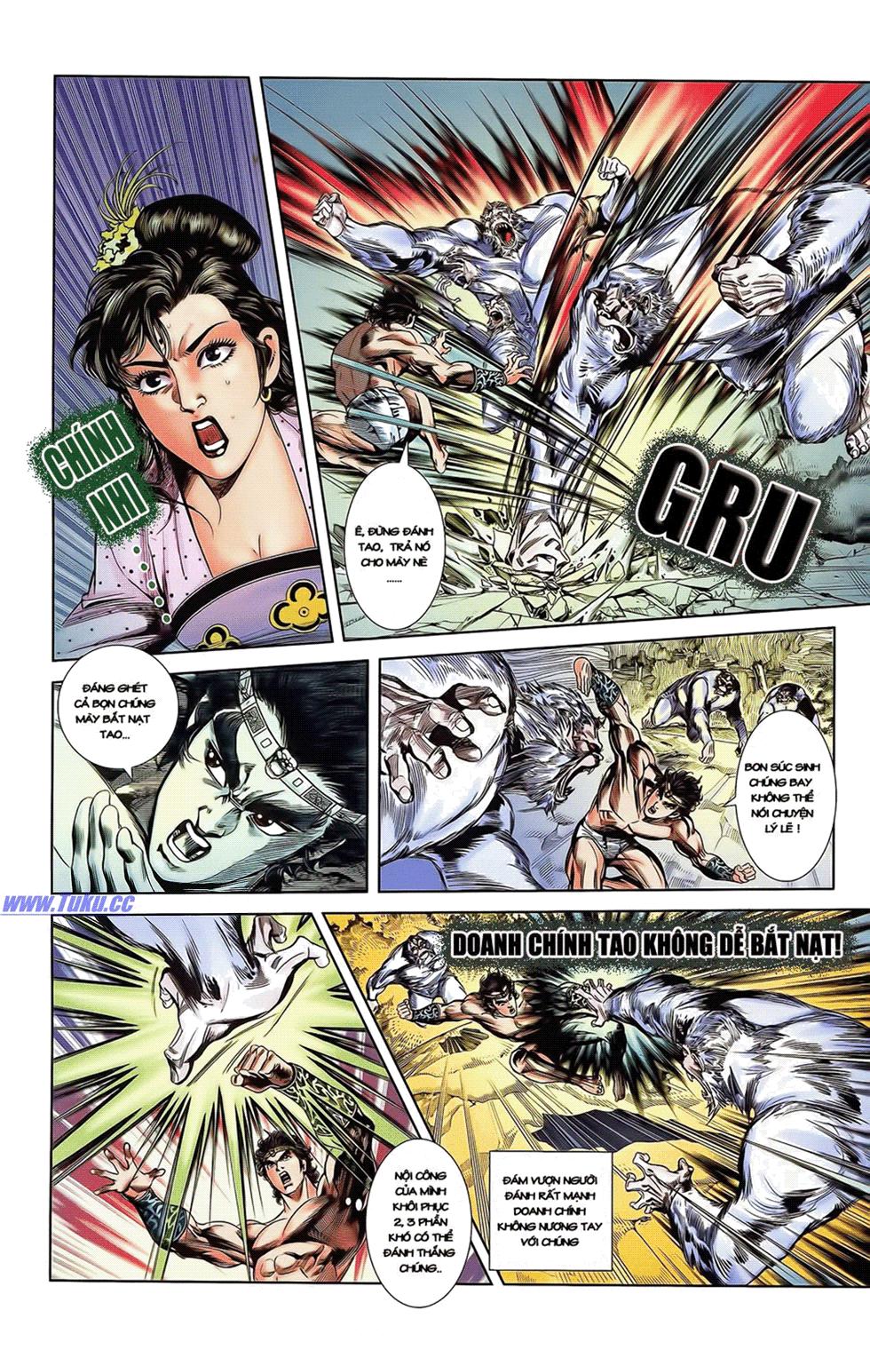 Tần Vương Doanh Chính chapter 14 trang 17