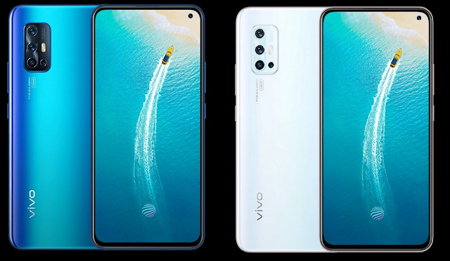 Vivo V19 With Quad Rear Cameras 4500mAh Battery Rear Quad-camera Android 10