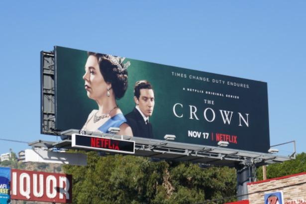 Crown season 3 billboard