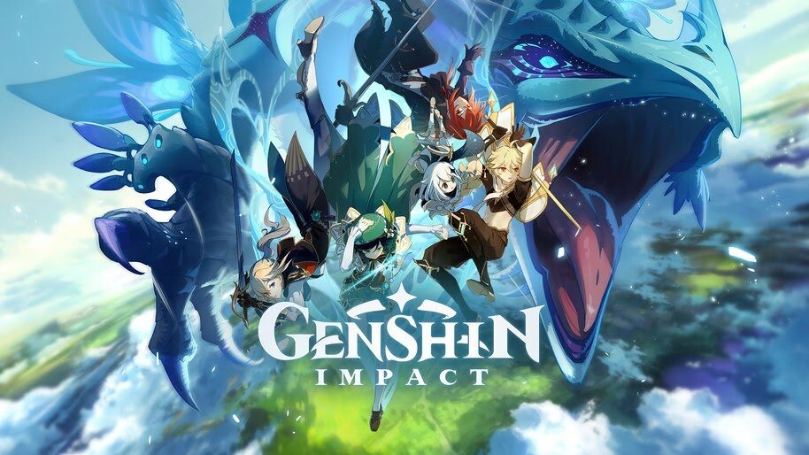 Genshin Impact, Key, Art, Characters, 4K, #3.2647