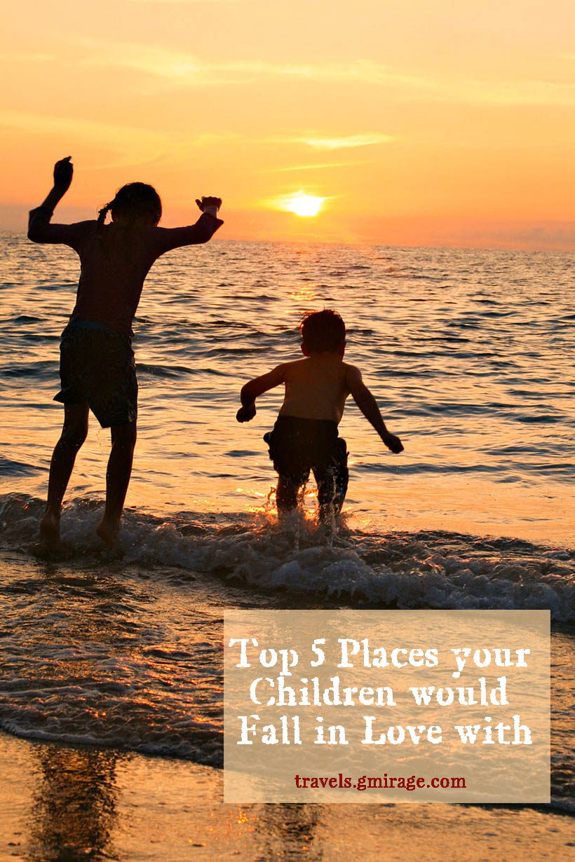 Finding the perfect destination for a family vacation can be a quite challenging task, and this is particularly true when it is necessary to cater to the needs of children.  Below are five fantastic family destinations that children will fall in love with and which offer that most essential component of a great vacation for any child – fun!