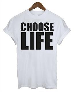 Choose Life George Michael T Shirt