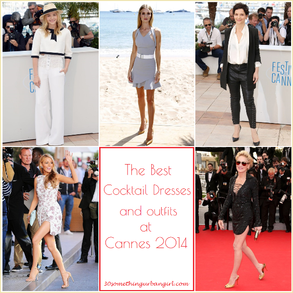 the best cocktail dresses and outfits at Cannes 2014
