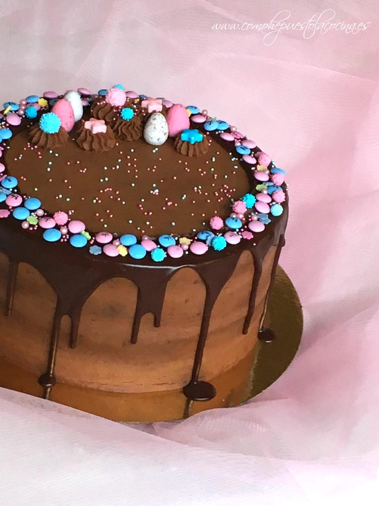 drip-cake-de-chocolate-receta