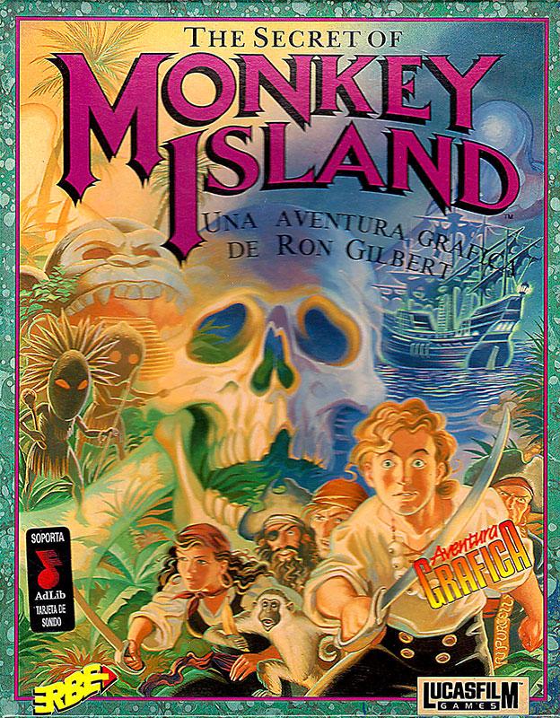 The Secret of Monkey Island Caja