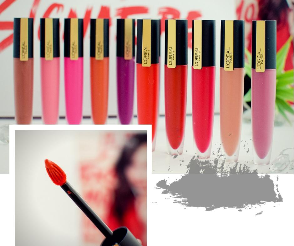 L'Oréal Paris Rouge Signature wie gut sind die neuen Lippenstifte