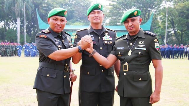 Sertijab Komandan Kodim 0312 Padang