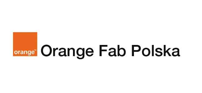 Logo programu Orange Fab Polska