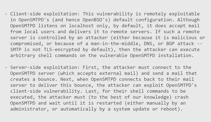 vulnerabilidad opensmtpd