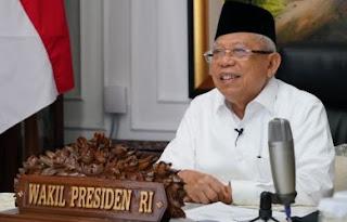 """KH Ma'ruf Amin Dicari-cari Publik, """"Kita Kehilangan Sosok Wapres, di Mana Beliau?"""""""