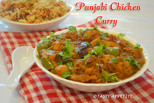 Punjabi Chicken Curry Dhaba Style Chicken Curry Classic