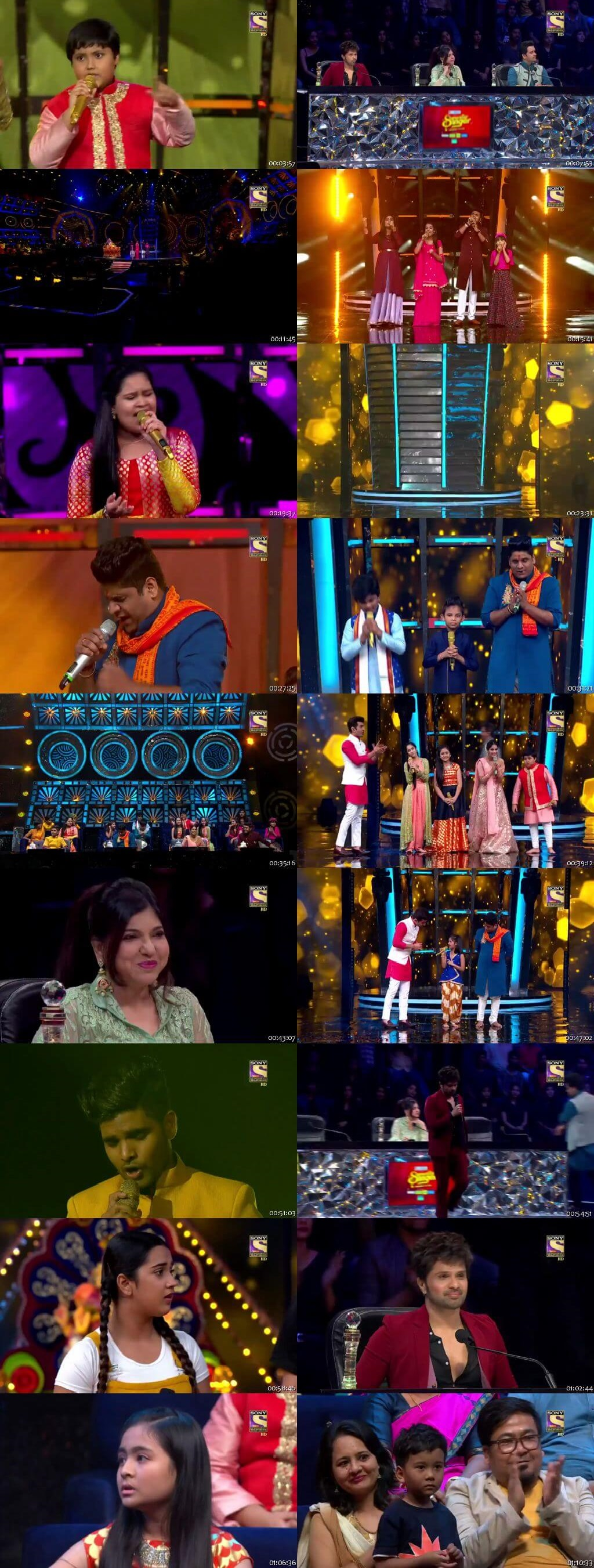 Screenshots Of Hindi Show Superstar Singer 1st September 2019 Episode 20 300MB 480P HD