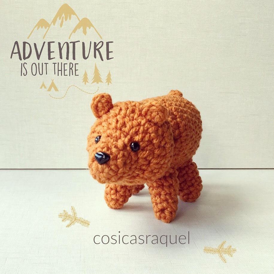 Oso Panda Amigurumi Crochet Tejido Artesanal Muñeco Bebé - $ 150 ... | 915x915