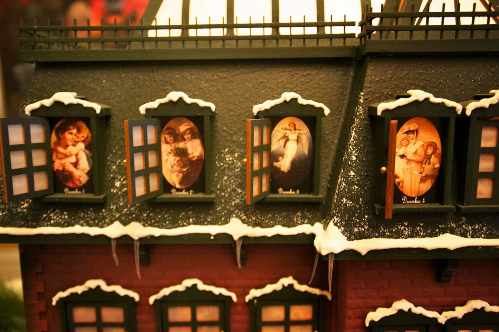 Advent Vacation Lampoon House Christmas