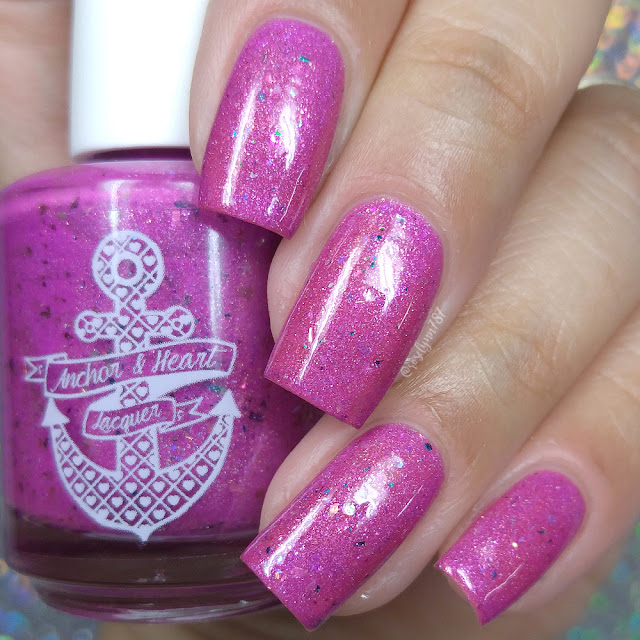 Anchor & Heart Lacquer - A Little More Time On You