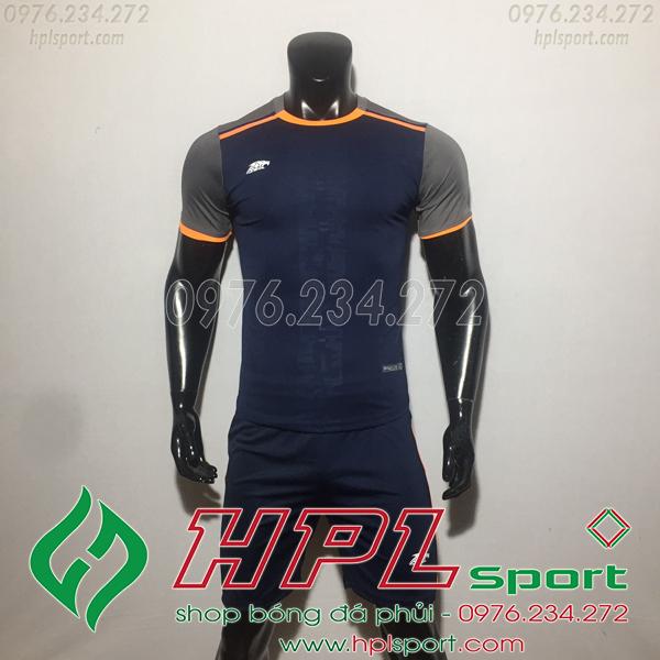 Áo bóng đá ko logo Eureka HAT TV  Màu Đen
